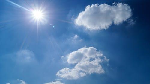 Gratis stockfoto met bewolkt, blauw, helder, hemel