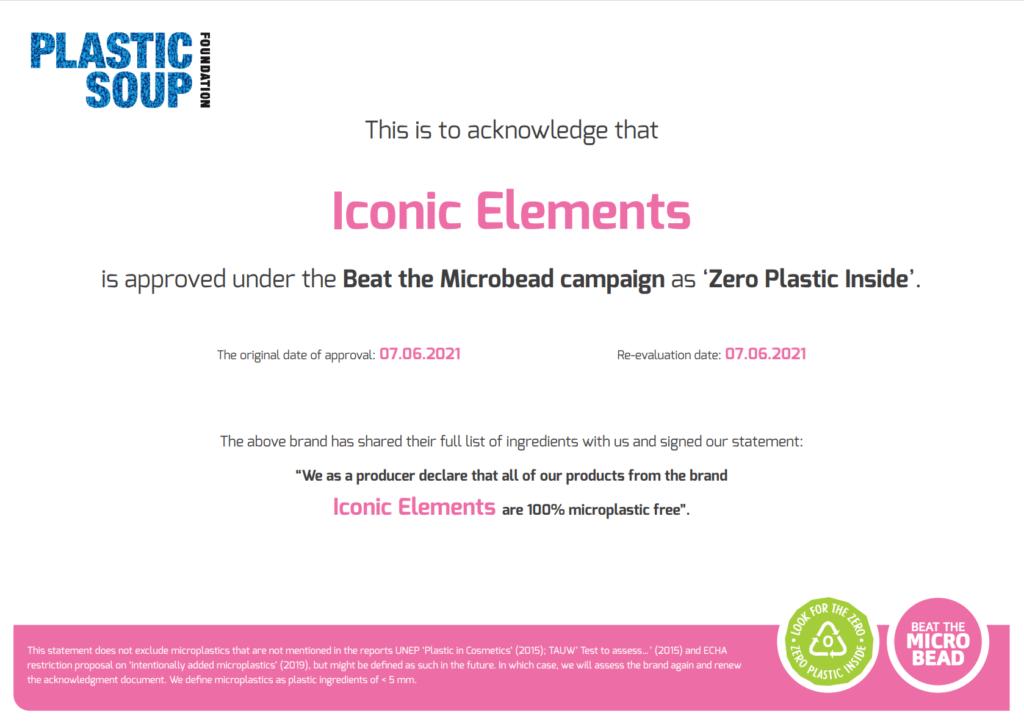 zero plastic Iconic Elements