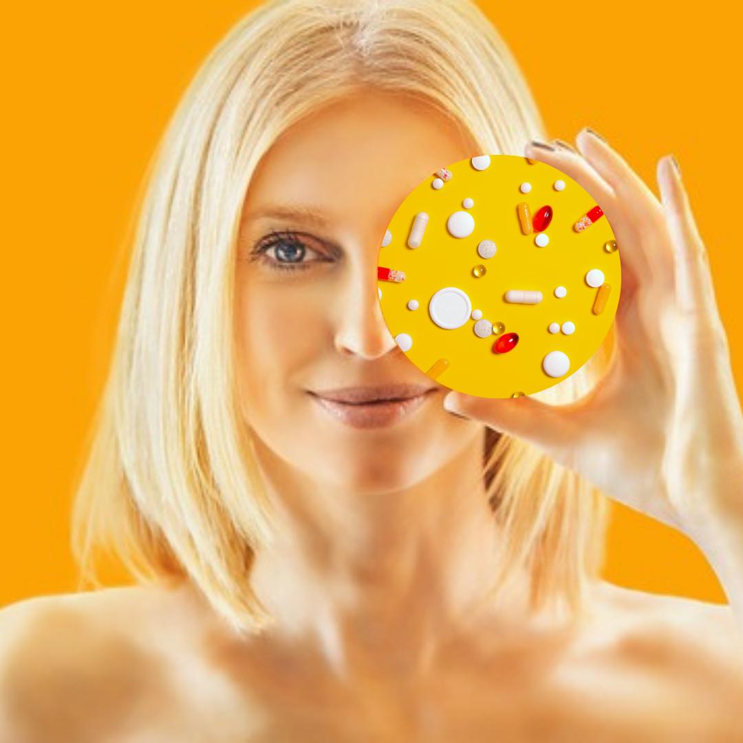 Melasma voedingssupplementen iconic elements pigmentvlekken zwangerschapsmasker